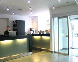 Ansgar Hotel lobby