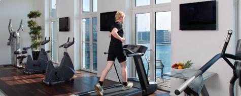 Copenhagen Island Hotel fitness centre