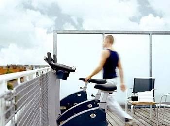 Hotel Skt Petri Rooftop fitness